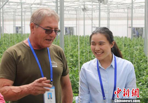 Israeli technology helps advance Nanyang agriculture